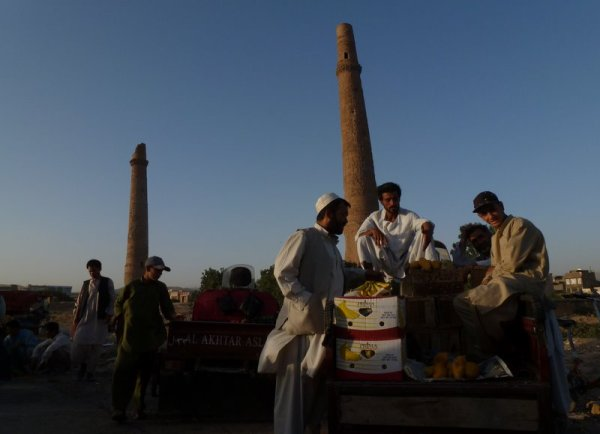 The minarets of Herat
