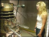 A Dalek and Rose (Billie Piper)