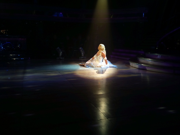 Pamela's dress rehearsal