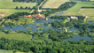 Pensthorpe from the air © Mike Page