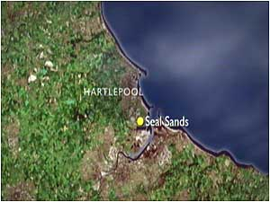 Seal Sands (Image: Map)