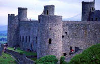 Photograph showing Harlech Castle