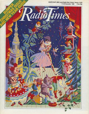The cover of the 1988 Christmas Radio Times.