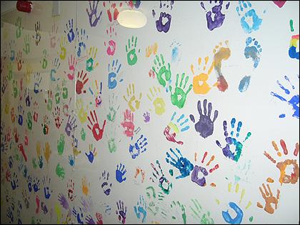 Fantastic Handprint Wall Art Gift - Wall Painting Ideas - arigatonen . & Dorable Handprint Wall Art Collection - Wall Painting Ideas ...