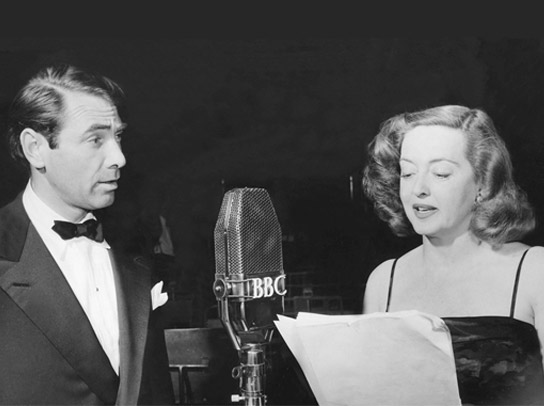 Bette Davis and Gary Merrill.