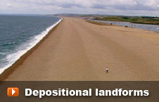 Watch 'Depositional landforms' video