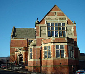 The Carnegie Library on Belfast's Donegall Road