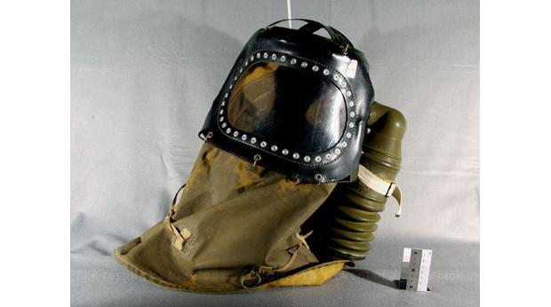 Baby's WWII gas mask