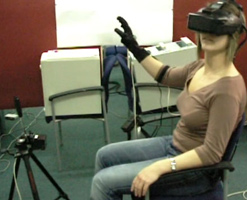 Virtual Reality as a Rehabilitation Technology for Phantom Limb Experience