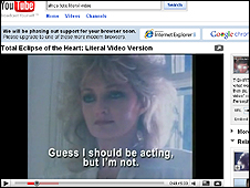 Total Eclipse of the Heart YouTube literal video