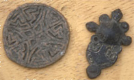 Photo of artefacts found at Kaupang