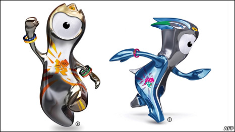 London Olympic and Paralympic Games 2012 mascots