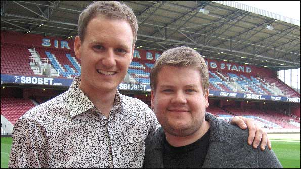 Dan Walker meets James Corden