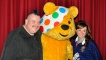 Jim Gellatly and Martel Maxwell with Pudsey