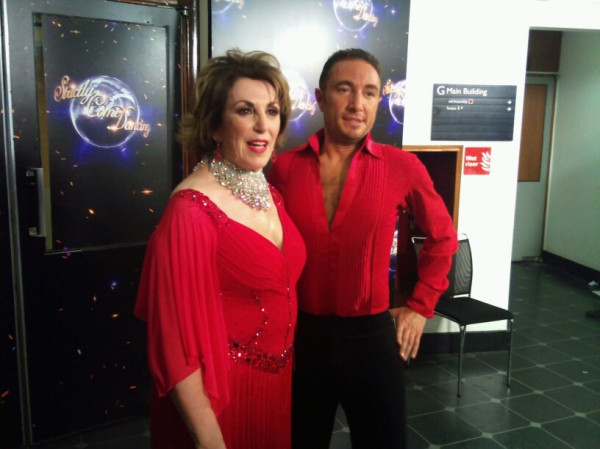 Edwina Currie and Vincent Simone