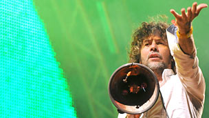 Wayne Coyne at Glastonbury 2010