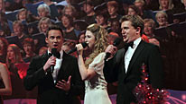 Russell Watson, Hayley Westenra and Aled Jones join in the Boxing Day Big Sing