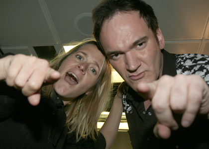 Edith and Quentin Tarantino