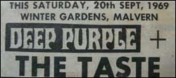 Deep Purple flier