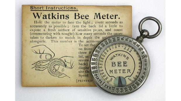 Alfred Watkins' Bee Meter with instructions