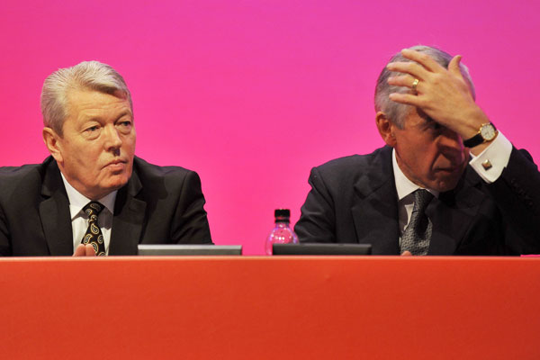 Does Alan Johnson look a bit like Brick Top out of Guy Ritchie's 'Snatch'?