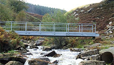 Bridge over the Rhondda River