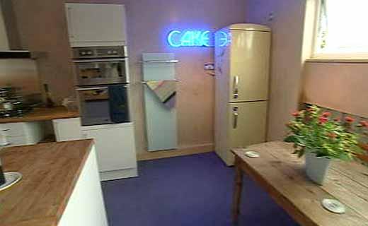 kitchen retro neon sign bbc inspiration own homes fridge
