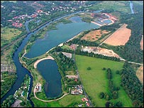 Picture: Aerial view of Whitlingham Country Park by Karen Sayer