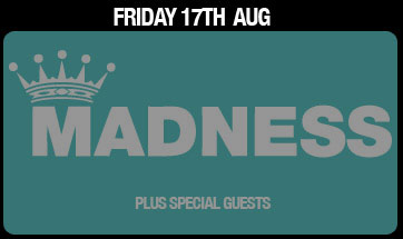 Madness Belsonic 2012 poster