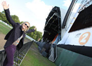 Jo Whiley at Hyde Park