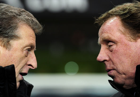 Roy Hodgson and Harry Redknapp