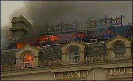 Bbc Devon Hotel Fire On Plymouth Hoe