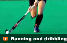 players and running and dribbling