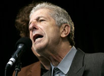 Leonard Cohen (Photo by Associated Press)