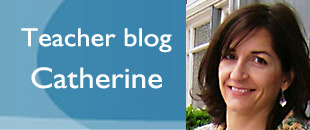 teacher blog banner for Catherine