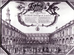 Royal Exchange in 1665
