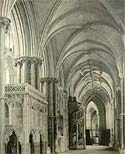 Image of the south choir aisle at Ely Cathedral