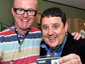 Peter Kay on the Chris Evans Breakfast Show