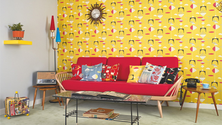 Homes U0026 Antiques Magazine Creates 1950s Living Room For Festival Of Britain  Anniversary Celebrations