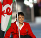 Tanni carried the flag for Wales at the 1994 Commonwealth Games.