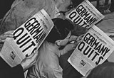 Stars and Stripes newspaper: 'Germany Quits'