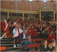 The audience at the 2003 Disability games