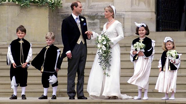 Prince Edward Wedding.Bbc History Prince Edward S Wedding Pictures Video