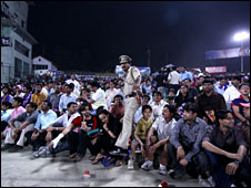 IPL match crowd