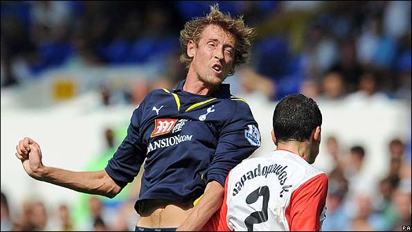 Peter Crouch will boost Tottenham's front line