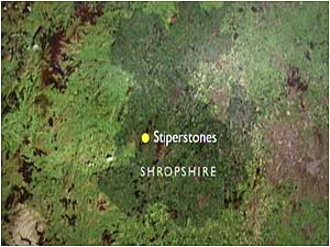 Stiperstones (Image: Map)