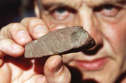 The Blombos Ochre is 77,000 year old art