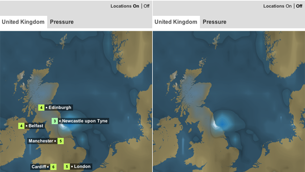 Making A Weather Map.Bbc Bbc Internet Blog Bbc Weather Update Making Detailed Weather