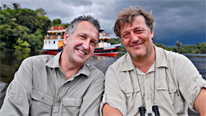 Mark Carwardine and Stephen Fry continue their search   to find some of the most endangered species on Earth
