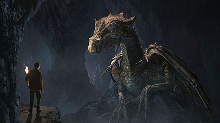 Merlin and the Great Dragon (image from series one)
